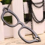Hipsta Glasses Long Necklace [Black] (3)-500x500