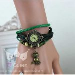 Leather Vintage Watches-green (1)-500x500
